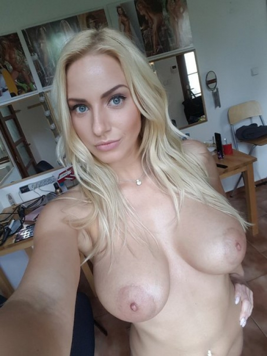 Very big hot natural boobs topless