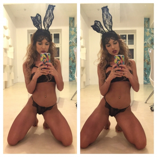 Lingerie rabbit sexy girl